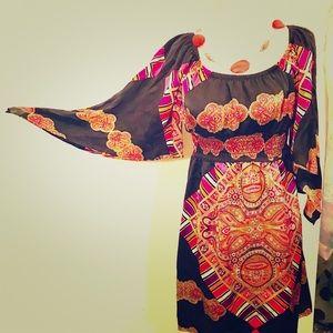 Voom! Silk Dress